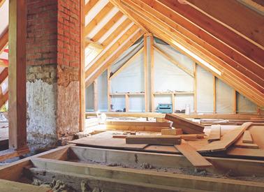 Rénovation de charpente ancienne
